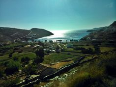 Kythnos island under the sun