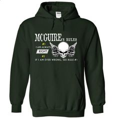 MCINNIS RULE\S Team .Cheap Hoodie 39$ sales off 50% onl - #tshirt tank #long hoodie. PURCHASE NOW => https://www.sunfrog.com/Valentines/MCGUIRE-RULES-Team-Cheap-Hoodie-39-sales-off-50-only-19-within-7-days-55955454-Guys.html?68278