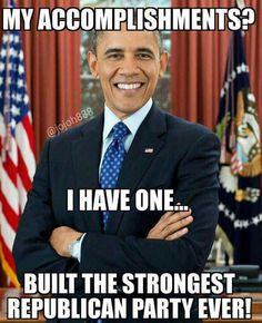 BRUTAL Truth About Obama's REAL Legacy=Unleashing the kick ass Republicans===Well done brothers and sisters in Christ. Michelle Obama, Political Memes, Funny Politics, Political Posters, Conservative Politics, Republican Party, God Bless America, Before Us, Barack Obama
