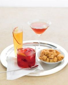 Cranberry Old-Fashioned, Cider Smash, and American in Paris Recipes