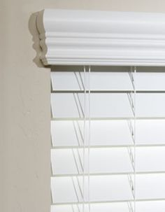 How to measure and install blinds for shallow depth windows. Blinds for shallow window frame can be tricky. Choose from 1 inch blinds or how top still use 2 inch blinds. Windows With Blinds, Curtains Over Blinds, Blinds For Windows Living Rooms, Faux Wood Blinds, House Blinds, Valances, Window Cornices, Window Coverings, Window Treatments