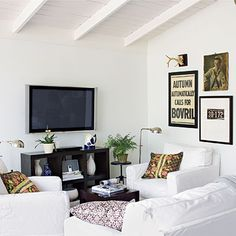 White Wash - White Painted Home Decor - Southern Living