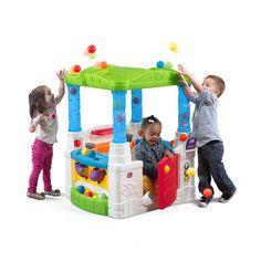 Toddler Plastic Activities Playhouse