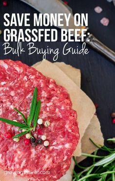Tips for buying a quarter or half cow to save money on grass fed beef. This is…