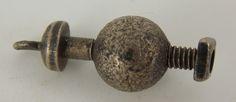 Vintage 1940's Sterling Nut & Bolt Movable Charm