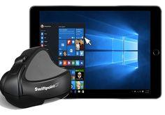 iPad mus til windows og mac teamviewer app. Styr din computer fra din ipad med mus og tastetur.