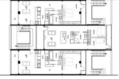 Container Home Blueprints | Modern Container Condo 1 | Shipping Container House Designs ...