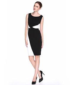 L'ALYSSE Women's Sexy Black White Colorblock Bodycon Dresses(Black,M) L'alysse http://www.amazon.com/dp/B015XNEUUE/ref=cm_sw_r_pi_dp_RtYIwb0KE8AWP