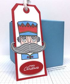 Santa Stache, Petite Pairs, Stampin' Up!, Brian King