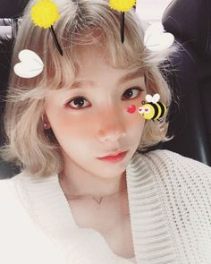 SNSD TaeYeon charms fans through her sweet selfie