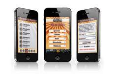 Diseño de la app Total Gym, mediante unos potentes gráficos y una sencilla interface el usuario puede disfrutar de un gimnasio de bolsillo.