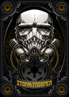 Death Side Series: Darth Vader & Shadow Stormtrooper by Charles AP