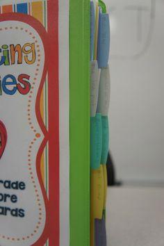 Organizing Choice Board Materials