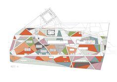 Floor Plan : Silesian Museum, Katowice Poland | Riegler Riewe Architekten