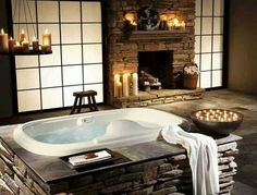 I could definitely relax in this tub!