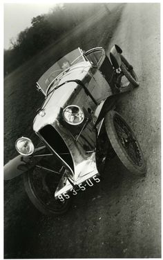 gacougnol: Jacques Henri Lartigue Bibi in my Amil Car Grand Sport, Paris 1926
