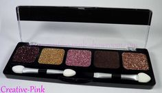 Showroom by Creative-Pink: NYX Glitter Cream Palette  http://www.creative-pink-showroom.com/2012/09/nyx-glitter-cream-palette.html