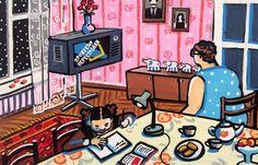 Душевные картины израильской художницы о детстве в СССР – Фитнес для мозга