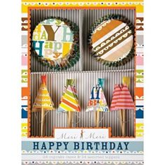 "Kit Cupcakes MERI MERI "" Happy Birthday"" 13,95€"