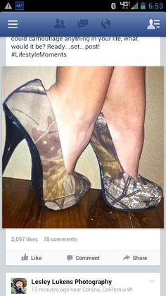 Maybe I could add a subtle touch of camo to the wedding :p