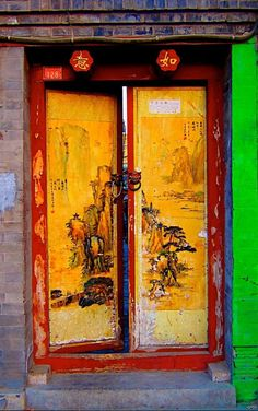 Beijing, China door