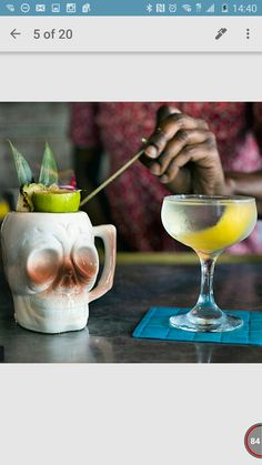 Flaming Skull Cocktails, Drinks, Hurricane Glass, Champagne, Skull, Tableware, Recipes, Craft Cocktails, Drinking