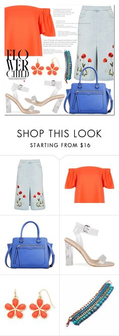 """flower child."" by anja-jovanovich ❤ liked on Polyvore featuring STELLA McCARTNEY, Topshop and Liz Claiborne"