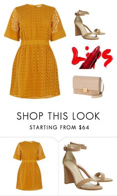 """""""Summer evening"""" by monika1555 on Polyvore featuring Warehouse and Yves Saint Laurent"""