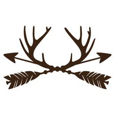 Silhouette Design Store: trophy antler arrows - mens white shirts, shirt design, mens summer button down shirts *ad Silhouette Cameo Projects, Silhouette Design, Silhouette Cameo Vinyl, Vinyl Crafts, Vinyl Projects, Just In Case, Just For You, Cricut Creations, Tatoo