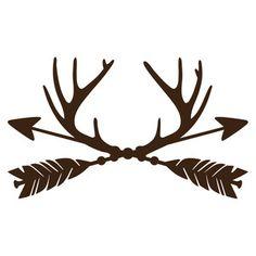 Silhouette Design Store: trophy antler arrows
