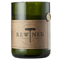 Rewined Wine-Scented Soy Candle