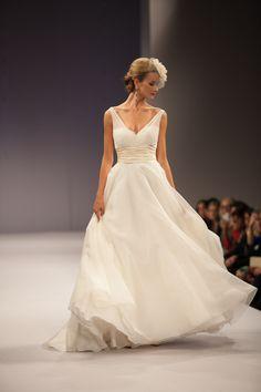 Anne Barge wedding dress Fall 2013 bridal Emmanuelle