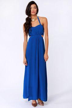 47e8045511 Aryn K Dress - Blue Dress - Maxi Dress -  95.00 Blue Maxi