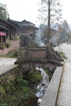 The quiet town of Shangli in #Sichuan #China
