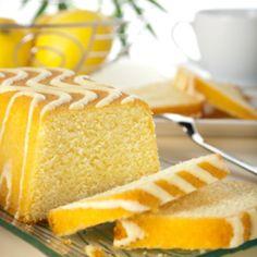 Panqué de Limón Glaseado