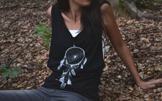 Dreamcatcher tank top di ClanWeAreClothing su Etsy