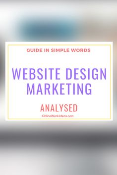 Web design is part of an internet marketing strategy. Simply having a beautiful website but no content or visitors, it's of no use. A website must be . Read all the guide by clicking image! Simple Words, Self Publishing, Business Website, Online Work, Internet Marketing, Seo, Digital Marketing, Wordpress, Web Design