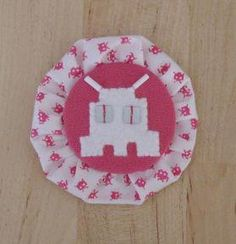 "Broche ""Space Invaders"""