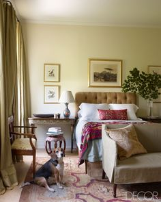 Greek Revival Interiors - Julia Reed's New Orleans House - ELLE DECOR