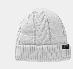 Women's UA Cable Knit Beanie