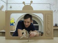 Ta.Ta. Unconventional Design For Kids: CARDBOARD DAD!
