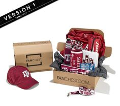 on sale c2793 7f029 Texas A M Aggies FANCHEST Deluxe