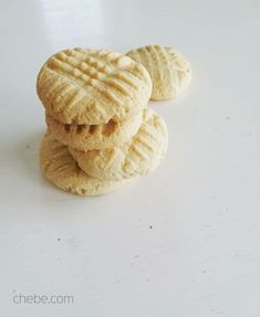 Grain Free Shortbread Cookies - #chebe Recipes
