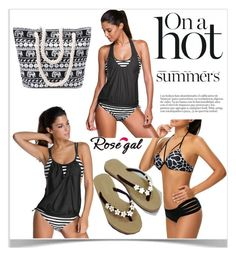 """""""On hot sommer"""" by kiveric-damira ❤ liked on Polyvore"""