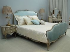 Attrayant Luxurious Upholstered Bed Head And Base | Custom Made Beds | Pinterest |  Bedroom Products