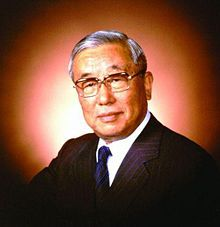 """Eiji Toyoda, President of Toyota from 1967 to 1981, cousin of the founder Kiichiro Toyoda.  Responsible for Toyota becoming profitable and expanding globally, and the start of the """"Toyota Way"""""""