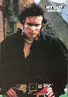 from My Guy magazine. Not sure of the exact year. Adam Ant, Ant Music, Stand And Deliver, Diana Dors, My Prince Charming, Hit Songs, My Guy, Ethnic Fashion, Ants