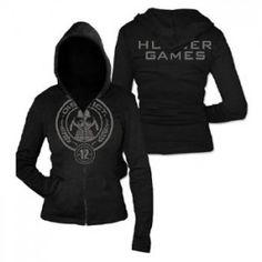 District 12 Hoodie > Official Merchandise > The Hunger Games Hunger Games Shirt, Hunger Games Merchandise, Hunger Games Outfits, The Hunger Games, Hunger Games Trilogy, Fandom Outfits, Hunger Games Clothes, Nerd Fashion, Fandom Fashion