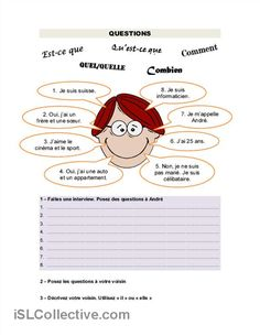 idea for reviewing interrogative expressions