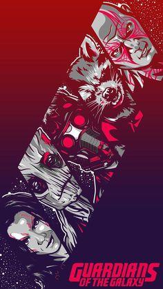 Guardian of the Galaxy wallpapers iPhone 6 Marvel: - Avengers Endgame Bd Comics, Marvel Dc Comics, Marvel Heroes, Marvel Avengers, Hulk, Illustration Main, Deadpool, Gardians Of The Galaxy, Films Marvel